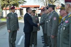Министар Вулин на слави Специјалне бригаде