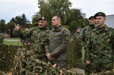 Minister Vulin: Members of 72nd Special Operations Brigade are pride of Serbian Armed Forces