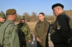 "Minister Vulin: Everything is ready for the exercise ""Century of Victors"""