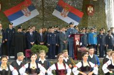 Promotion of the Youngest Non-Commissioned Officers of the Serbian Armed Forces