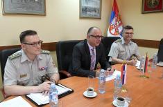 Sastanak pomoćnika ministra Rankovića sa novoimenovanim izaslanikom odbrane Ruske Federacije generalom Zinčenkom