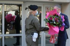 Министар Стефановић честитао Међународни дан жена - 8. март