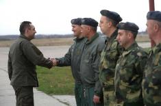 Ministar Vulin: Srbska avijacija čuva srbsko nebo