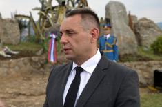 Министар Вулин: НАТО агресија не сме да се заборави