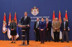 The President and the Supreme Commander Aleksandar Vučić has declared a state of emergency: We will fight and we will win