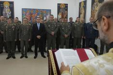 Celebration of Slava of the General Staff of the Serbian Armed Forces