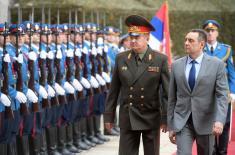Odlična saradnja ministarstava odbrane Srbije i Belorusije