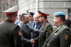 Одлична сарадња министарстава одбране Србије и Белорусије