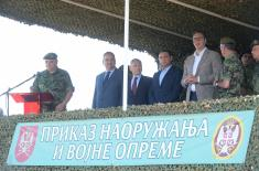 Председник Вучић: Поносан сам на Војску Србије, на људе који увек служе и штите Србију