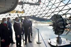 Minister Stefanović visits Aeronautical Museum