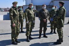 Министар Вулин у Сјеници: Војска Србије је добродошла и у Сјеници и у Београду без изузетка