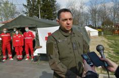 Министар Вулин у Суботици: Због пада температуре још један прихватни центар