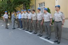 Defence Minister talked to NCOs and professional soldiers from the Guard
