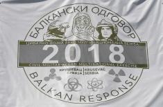 """Мултинационалном вежбом """"Балкански одговор 2018"""" против заједничких претњи"""