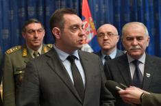 Minister Vulin: Once a Member of the Armed Forces, always a Member of the Armed Forces