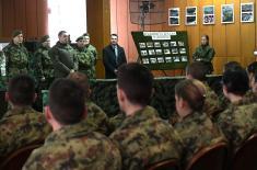 Министар Вулин: Обука на вишем нивоу