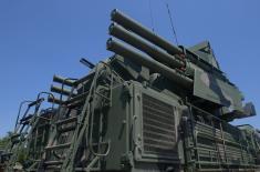 Приказ наоружања и војне опреме на Ушћу