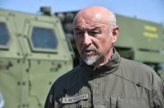 Ministar Vulin: Unapređujemo borbenu gotovost