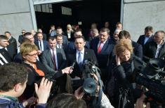 Министар Вулин: Србија ће увек помагати Србима где год живели