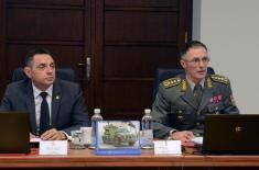 Саопштење са заједничке седнице Колегијума министра одбране и начелника Генералштаба Војске Србије