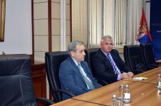 Састанак са представницима Савеза пензионера Србије