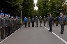 Minister Vulin: The Guard of the Serbian Armed Forces is not for parades only