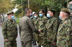 Minister Vulin: Military health care is ready for the new wave of coronavirus