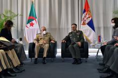 Састанак са начелником Генералштаба Националне народне армије Алжира