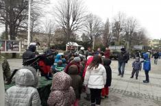 Приказ наоружања у Лозници