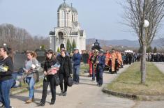 Burial of Dejan Kovačević