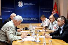 Minister of Defence meets with representatives of the of Military Pensioners