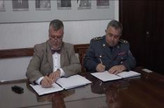 Signing of Agreement on Cooperation between Museums of Serbia and Belgium