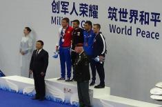 Прва медаља за Србију на светским војним играма у Кини