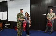 "Best at the literary contest ""Letter to a soldier-warrior"""