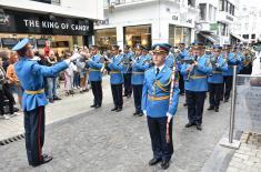 Reprezentativni orkestar Garde zadivio Belgiju