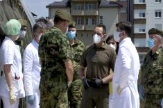 Minister Vulin in Novi Pazar: The Serbian Armed Forces have carried out the order of the Supreme Commander