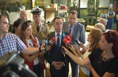 Ministar Vulin: Dok Vučić vodi Srbiju, Srpska može da bude spokojna