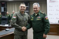Sastanak ministara Vulina i Šojgua u Moskvi: Naša saradnja je na najvišem istorijskom nivou i nikada nije bila sadržajnija