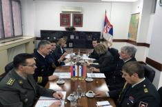 Bilateral defence consultations with Slovenia