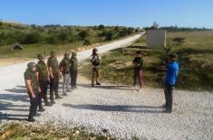 Завршен курс за обуку цивила за учешће у мировним мисијама