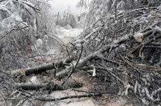 Pomoć Vojske Srbije u otklanjanju posledica vremenskih nepogoda