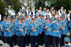 The youngest officers of the Serbian Armed Forces promoted