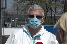 Reč lekara i pacijenata: Privremena bolnica na Beogradskom sajmu dobro funkcioniše