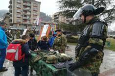Приказ наоружања у Пријепољу