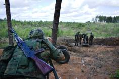 Успешно гађање Војске Србије на полигону Луга код Санкт Петербурга