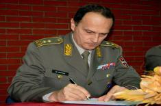 Примопредаја дужности начелника Војне академије