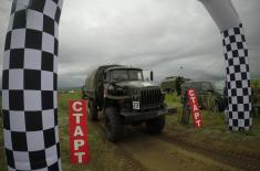 Serbian Armed Forces drivers won third place at International Army Games