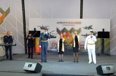 Запажен наступ представника Србије на Фестивалу националне културе у Москви