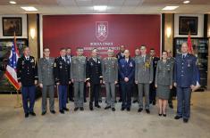 Посета команданта Националне гарде Охаја