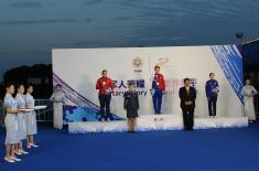 Dve medalje za Srbiju na 7. CISM svetskim vojnim igrama u Kini